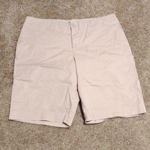 Dress shorts tan color size 16 W